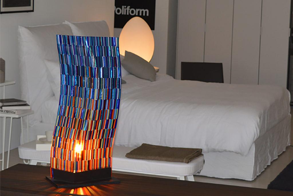 Lamp Torcello glass sculpture