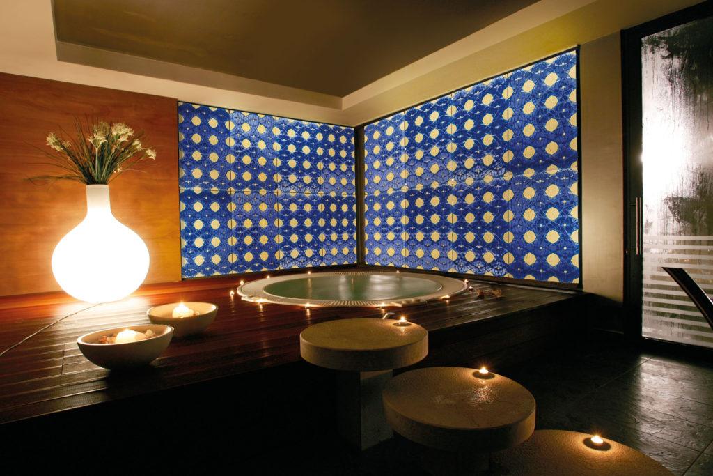 Alhambra glass panel