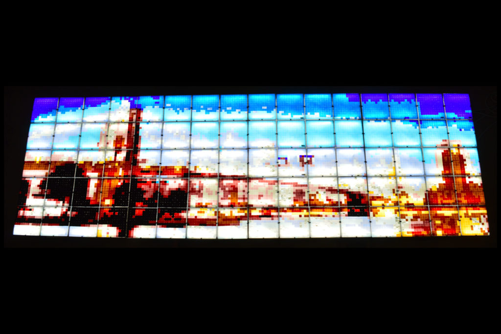 Brooklyn glass panel