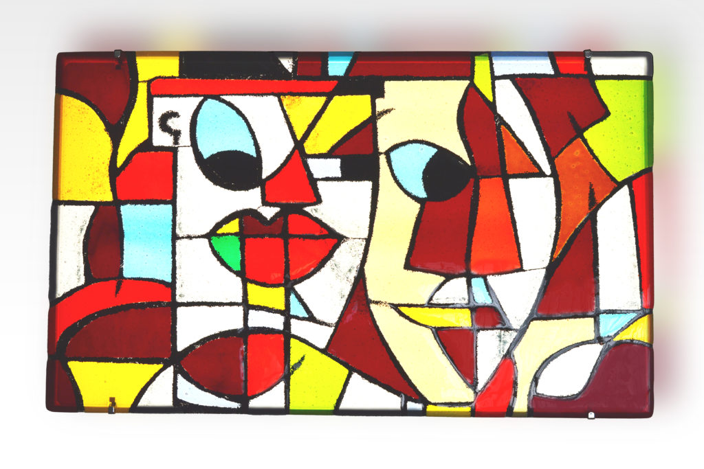 Visi glass panel