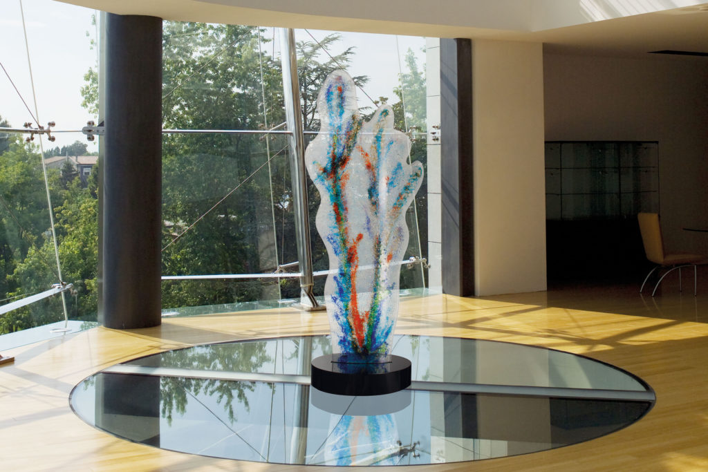 Corallo glass sculpture