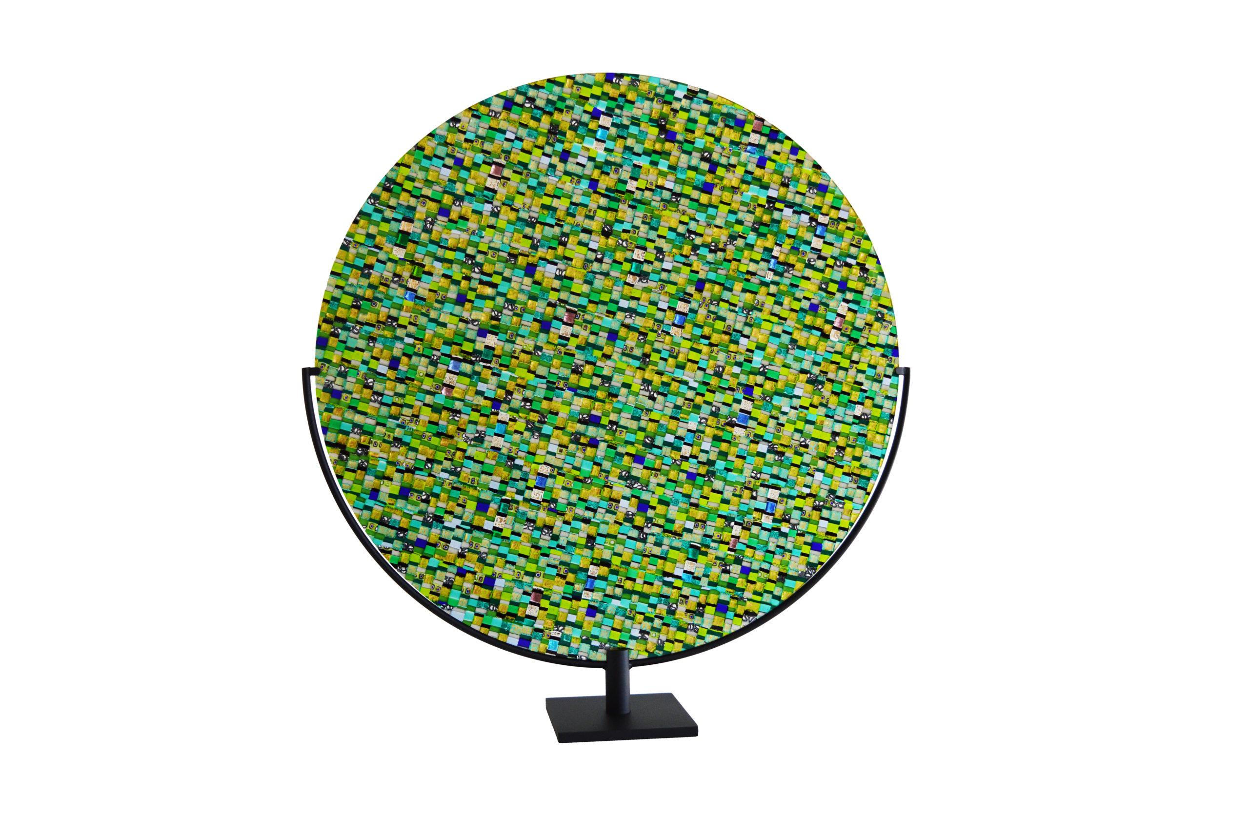 Sole Luna green disk