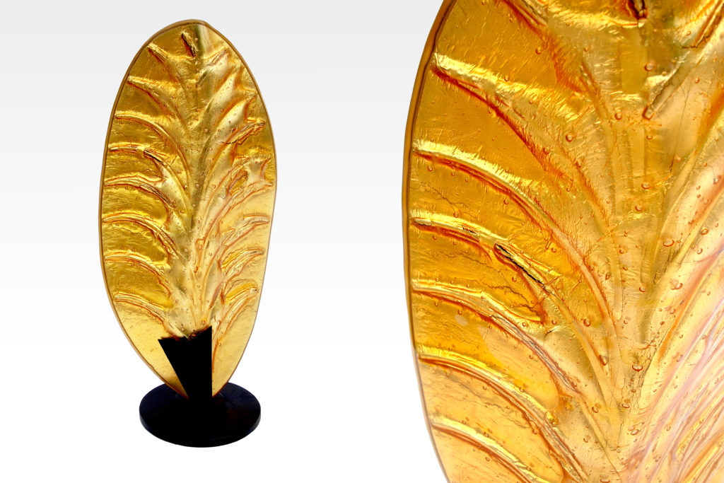 Gaia glass sculpture