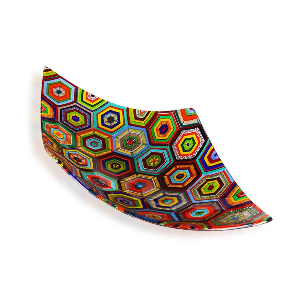 aquilone maiolica multicolor