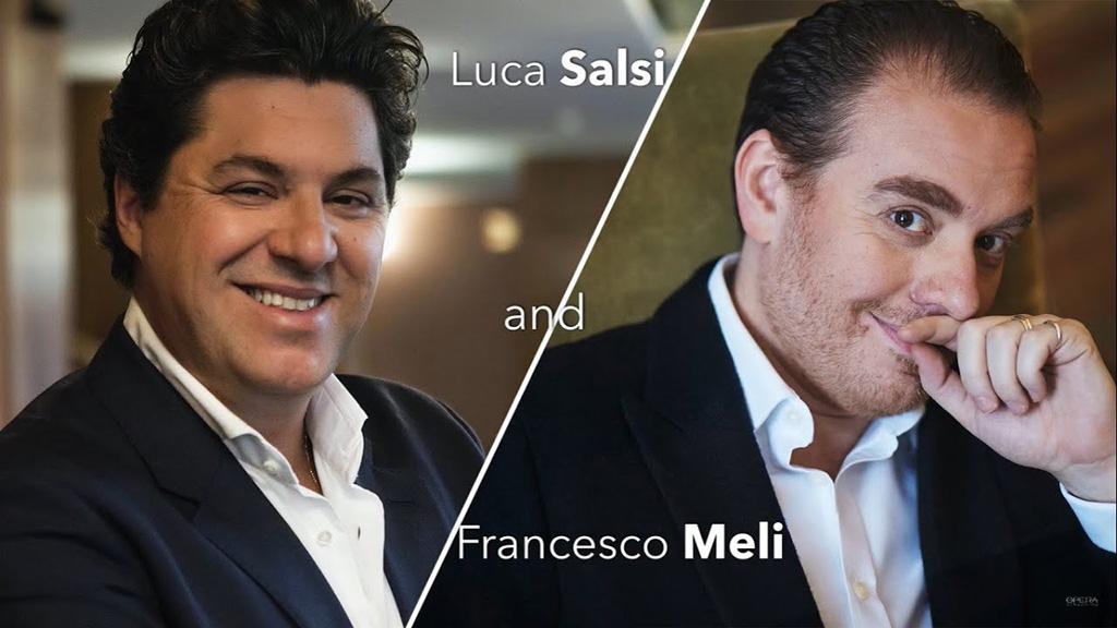 Francesco Meli and Luca Salsi