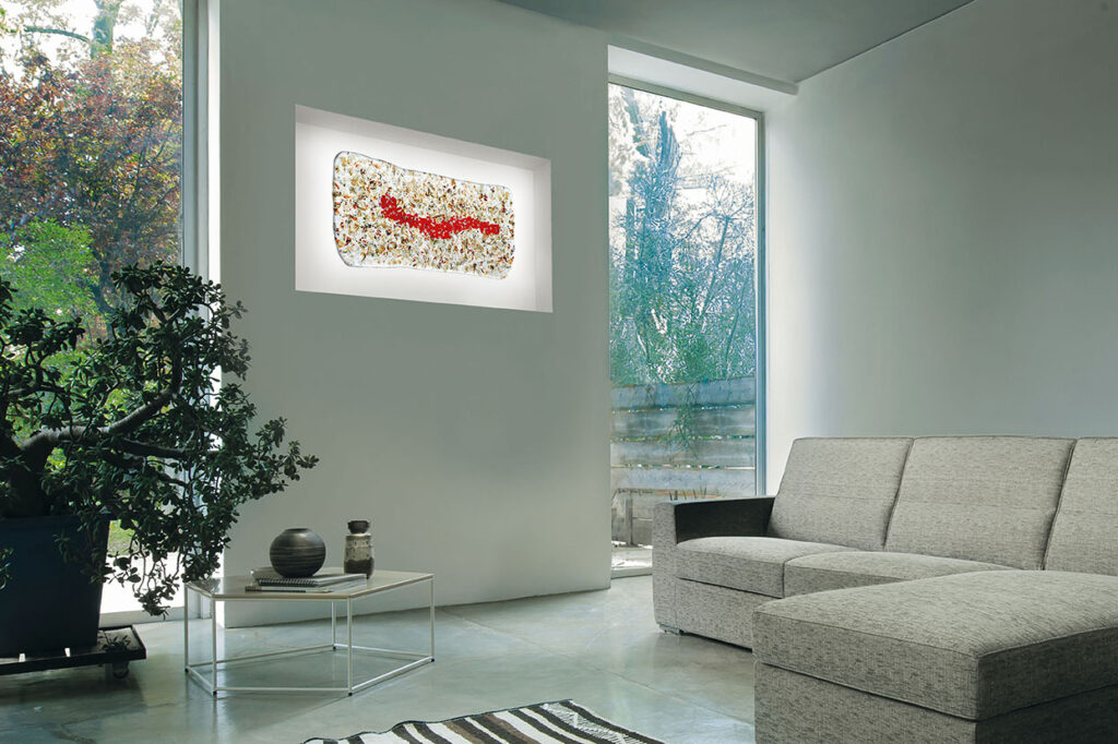ares glass panel