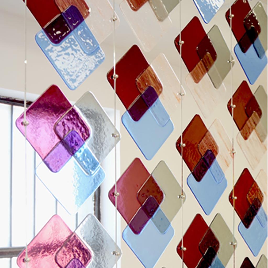 RGB rombo glass divider