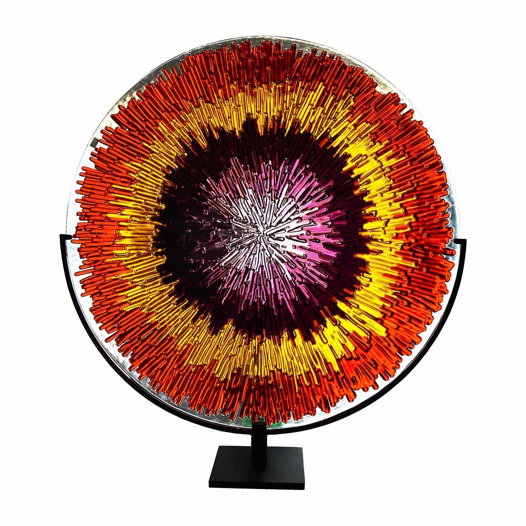 disco energia rosso