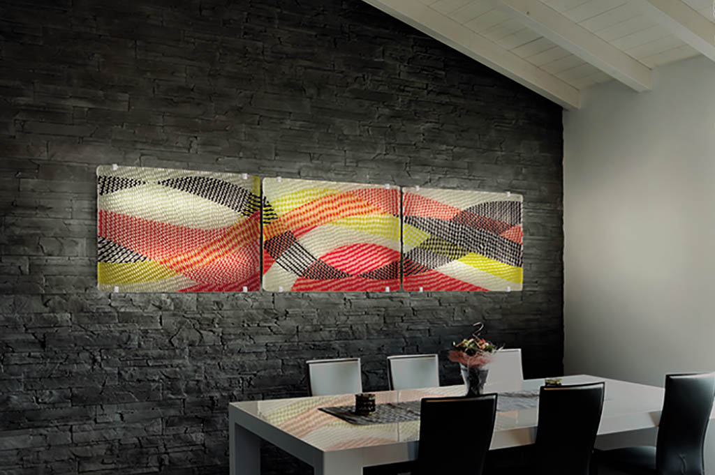 Decorative glass panels: design solutions for luxury furniture