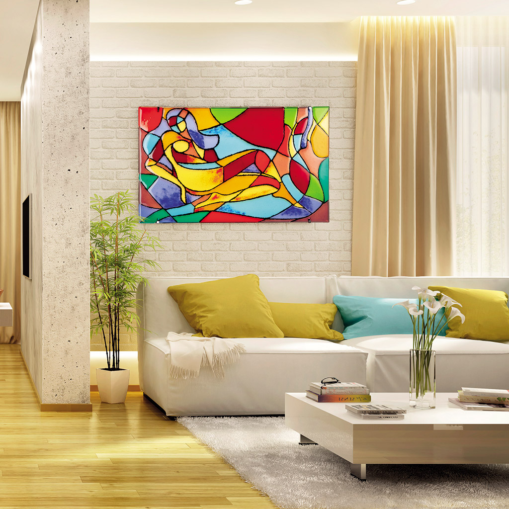 Enrich the rooms with decorative glass panels for interiors