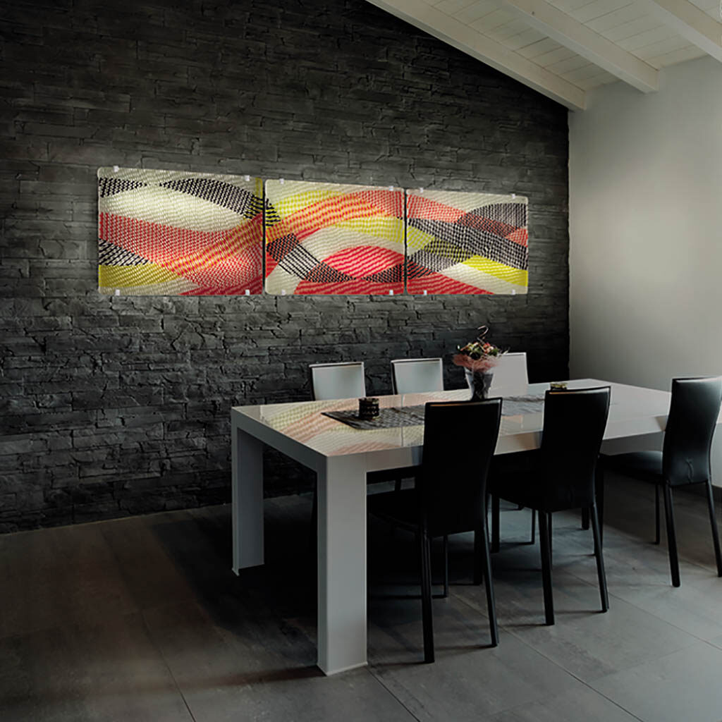 wave wall decoration