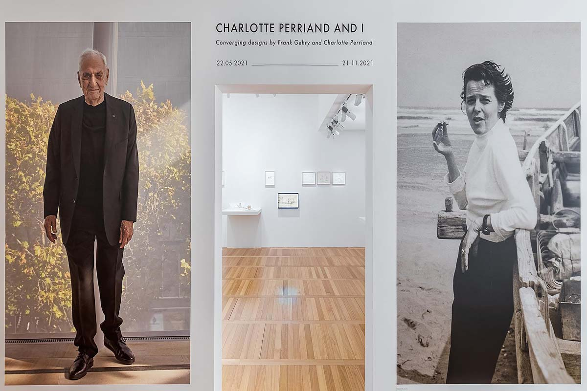 Charlotte Perriand and Frank Gehry