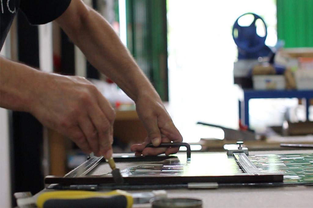 The Murano glass fusion technique